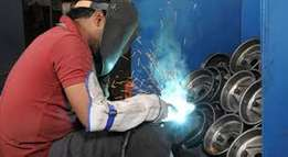 Boilermaking training co2 arc argon flux-core welding