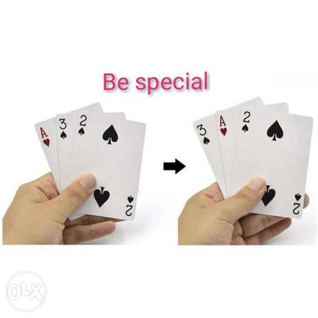Special cards magic