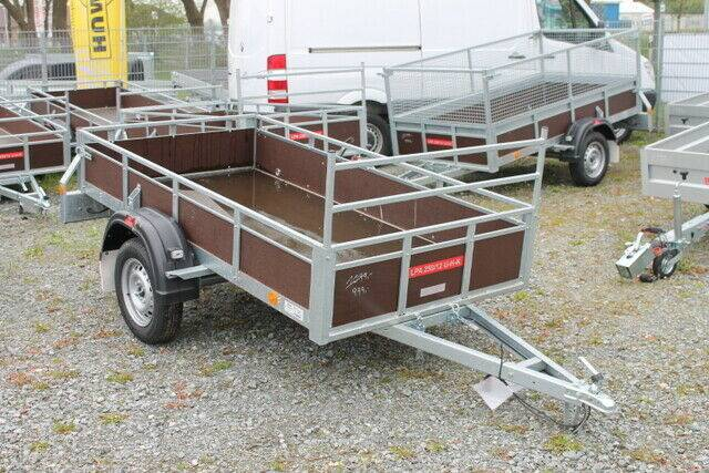 Pongratz LPA 250/12U 750kg, H-Gestell, Kippbar