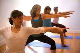 Yoga and pilates classes