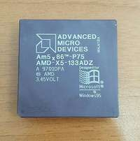 Processore CPU AMD Am5X86-P75 MicroProcessor AMD-X5-133ADZ 133MHz 16 K
