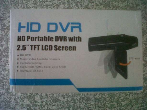 HD Portable Dash Cam DVR with 2.5'' TFT LCD screen (Brand New) Port Elizabeth - image 5