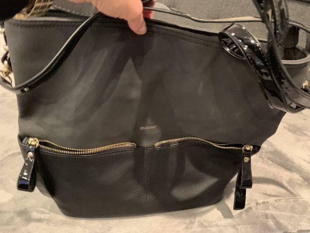 Duża torebka torba monnari jak nowa gwarancja Bytom • OLX.pl