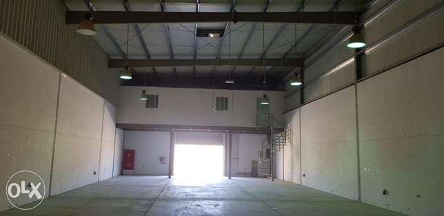 Warehouse 454 SQM in Rusyal Easy Access to Mct City and All Ports