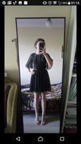 1f96cc3623 Sukienka nowa Asos koronka S 36 falbany czarna skater