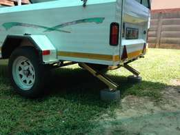 Challenger 7 Foot Camping Trailer