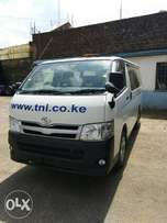 New Toyota Hiace 2012; Fully loaded and in Excellent Condition