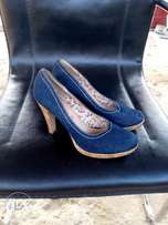 Denim High heel shoe