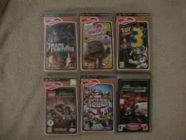 Sony Playstation games.. PSP