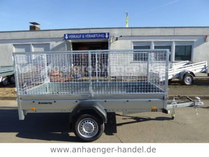 Brenderup 2270 + PROFI-Gitteraufsatz 270x130x105cm 750 kg - 2019