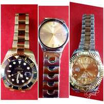 Swiss and Rolex watches