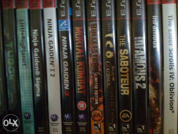 PS3 - Playstation 3 Games / 50sr a piece