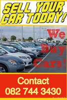 We buy all Cars, Gauteng and Surrounding!!!