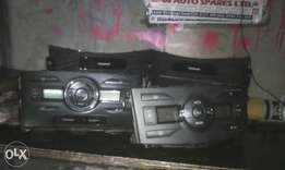 Toyota axio/fielder AC control and complete face with mouldings