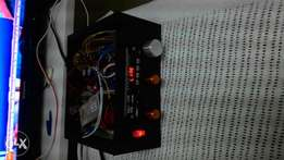 Budget amplifier, collect from Gachie.