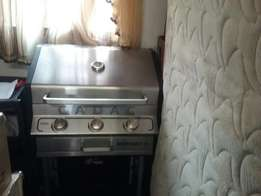 Auto ignite 3burner gas braai