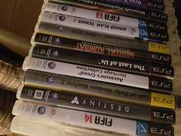 PlayStation 3 with 19 games .1 remote.1