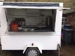 Used Catering trailer 8ft x 6ft for sale