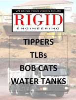 TLBs , Tippers, Bobcats, Water Trucks, Plant Hire