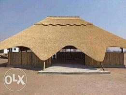 Thatch roofs and lapas