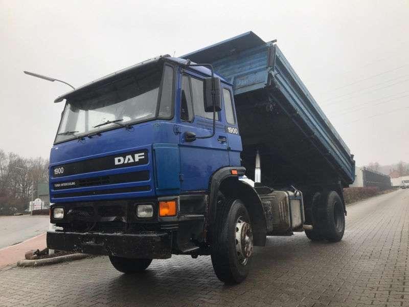 DAF 1900 Turbo, Blatt / Blatt, Schaltgetriebe - 1993