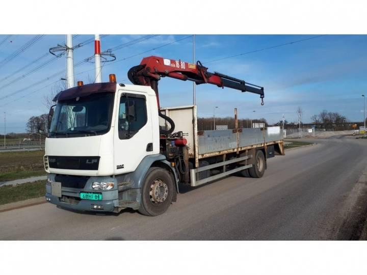 DAF Lf55.220 + Hmf 1683 K2 Kraan - 2001