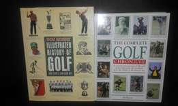 2 Awesome Books on the history of golf.