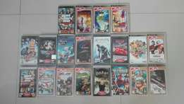 20 PSP games for sale.