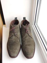 фирменные замшевые кожаные туфли Van Bommel р.43-44 (28 cf15b8b4404f9