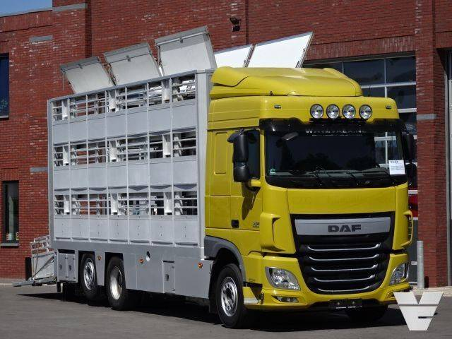 DAF XF460 FAN 3 Stock Livestock, Low Kilometer, Euro 6 - 2014