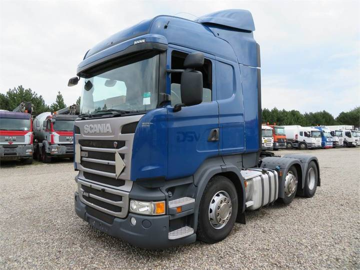Scania R410 6x2-4 Highline Euro 6 Scr - 2014