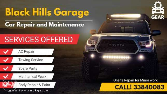 Car repair and service qatar