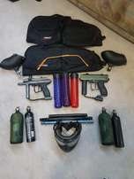 2 Paintball Guns for sale with many Extras. Both in Mint Condition!