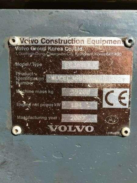 Volvo Ec360blc **bj2007 *14.730** Hammerltg. - 2007 - image 29
