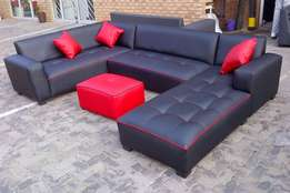 For ONLY R6500 you can get a Brand New U Shape Lounge Set.