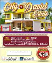 Buy Land in City of David Estate with Governors Consent at Ibeju Lekki