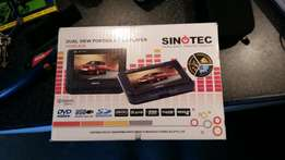 Sinotec dual view portable dvd player.