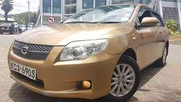 Toyota fielder 2009, auto immaculate clean,