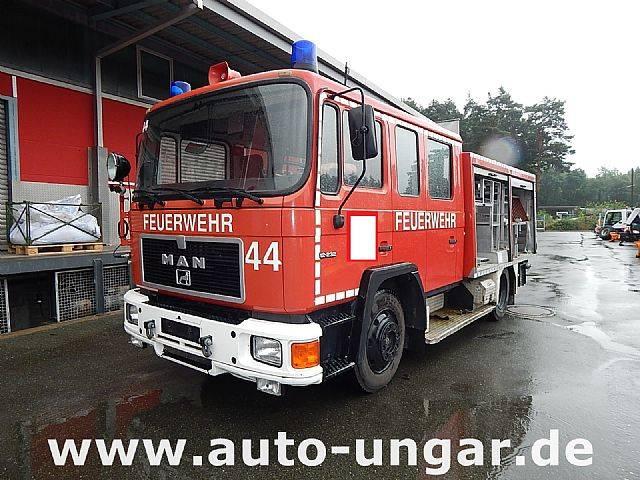 MAN LF16 mit 1260Liter Wassertank Feuerwhehr - 1990