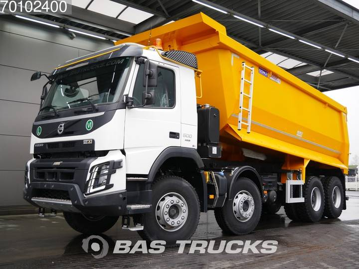 Volvo FMX 500 8X4 25m3 VEB+ Big-Axle Steelsuspension Euro 6 - 2019