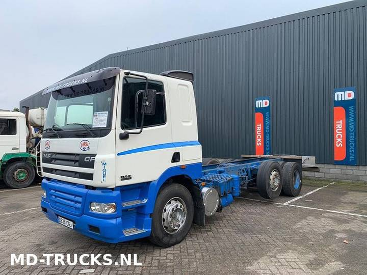 DAF CF 85 430 manual 6x2 retarder - 2003