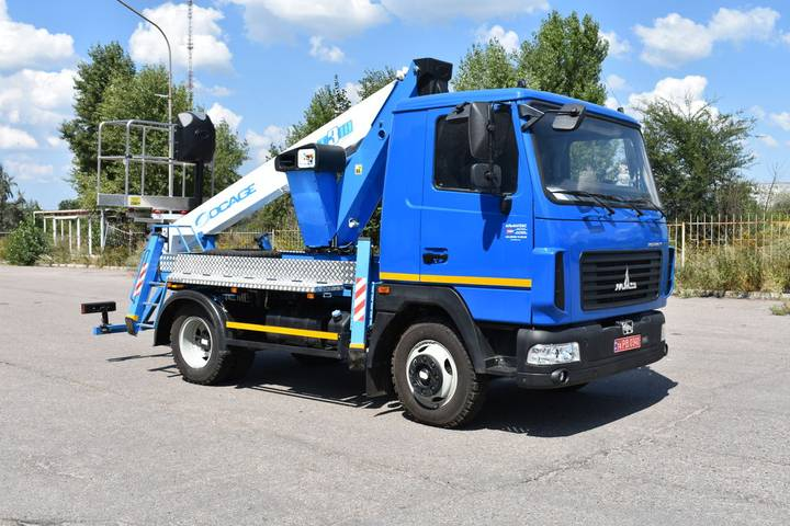 Socage New  T318 na shassi MAZ-4371N2 bucket truck - 2019