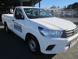 Toyota Hilux 2.4GD For Hire