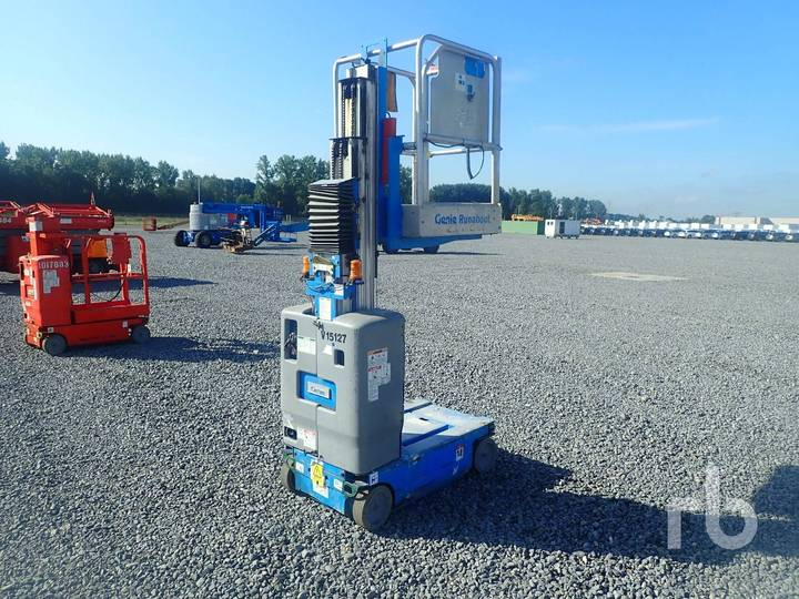 Genie GR15 Electric Vertical Manlift - 2010