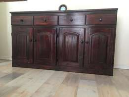 Dining room server with 4 door and 4 draws