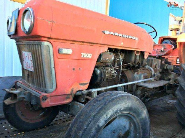 Barreiros 7000 mini tractor for parts