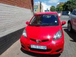 2012 Toyota Aygo in good condition for R 80000.00