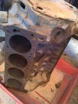 Ford V8 engine block and Bosch Dizzy for sale 351 Cleveland