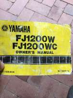 Yamaha FJ1200 owner's manual