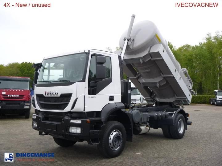Iveco AD190T38 4x2 vacuum truck (tipping) / NEW/UNUSED